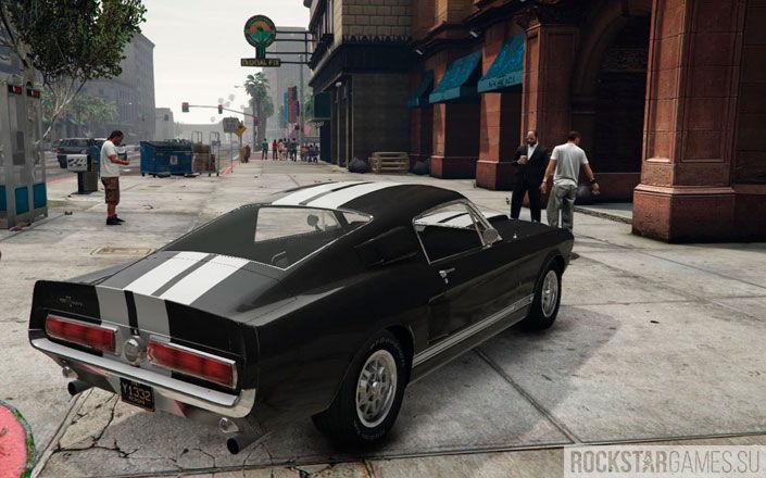 Ford Mustang GT500 в GTA 5