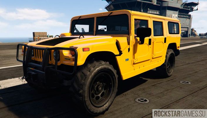 Мод Hummer H1 для GTA 5