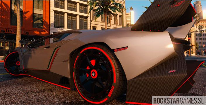Lamborghini Veneno в GTA 5