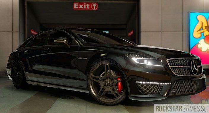 Мод Mercedes-Benz CLS 6.3 AMG для GTA 5