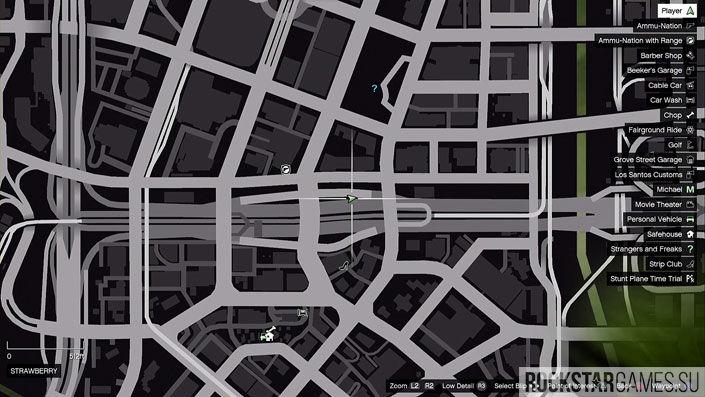 Карта мозаики обезьяны в GTA 5 — изображение 1