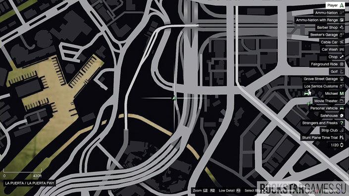 Карта мозаики обезьяны в GTA 5 — изображение 12