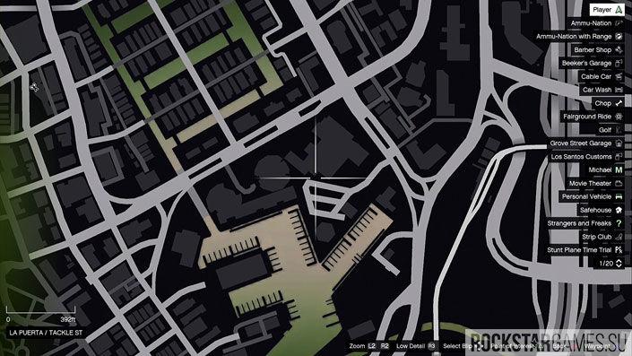 Карта мозаики обезьяны в GTA 5 — изображение 13