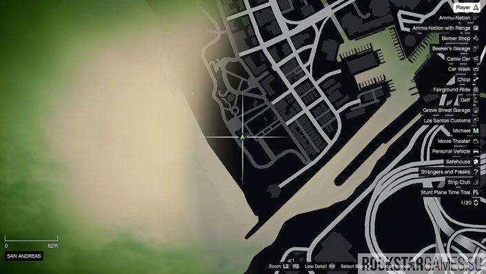 Карта мозаики обезьяны в GTA 5 — изображение 14