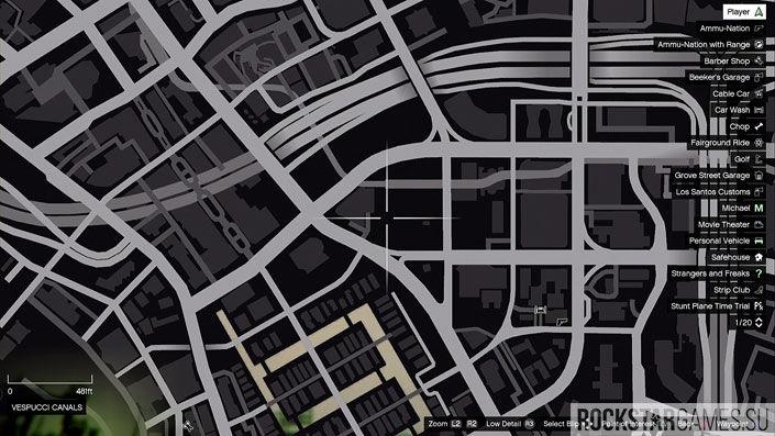 Карта мозаики обезьяны в GTA 5 — изображение 15