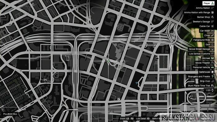 Карта мозаики обезьяны в GTA 5 — изображение 16