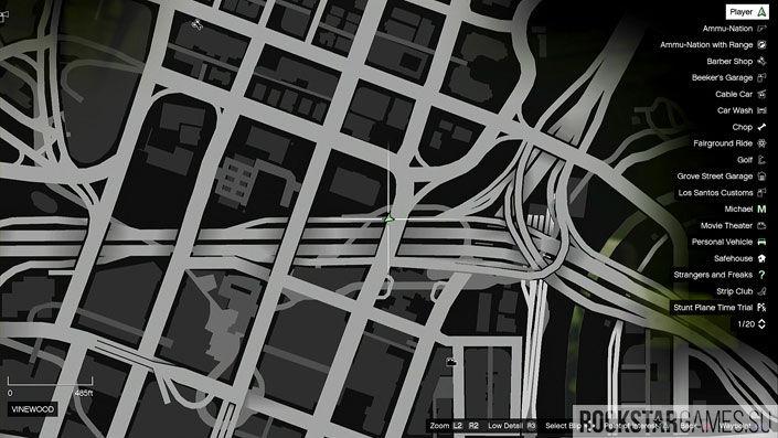 Карта мозаики обезьяны в GTA 5 — изображение 17