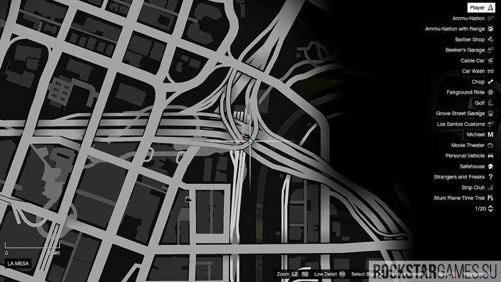 Карта мозаики обезьяны в GTA 5 — изображение 18