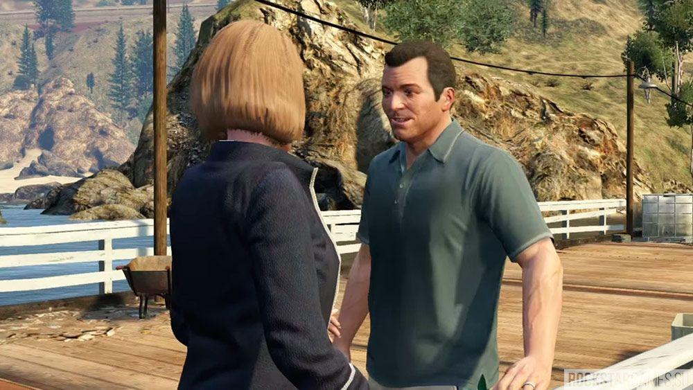 Эбигейл расскажет Майклу о том, что субмарина затанула