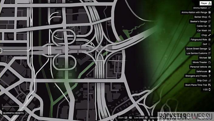 Карта мозаики обезьяны в GTA 5 — изображение 20