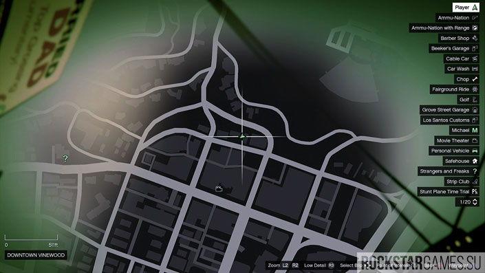 Карта мозаики обезьяны в GTA 5 — изображение 23