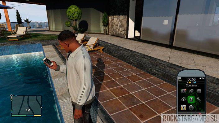 У каждого в GTA 5 свой телефон