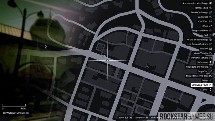 Карта мозаики обезьяны в GTA 5 — изображение 24