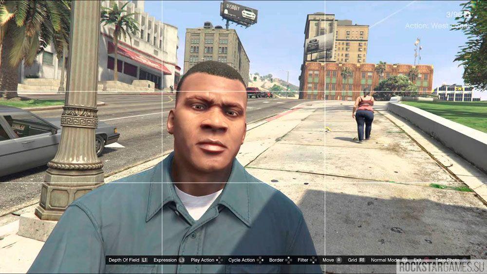 Селфи в GTA 5 - реальность