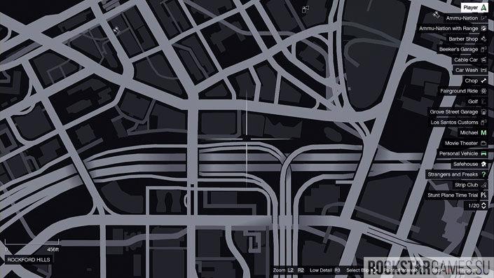 Карта мозаики обезьяны в GTA 5 — изображение 27