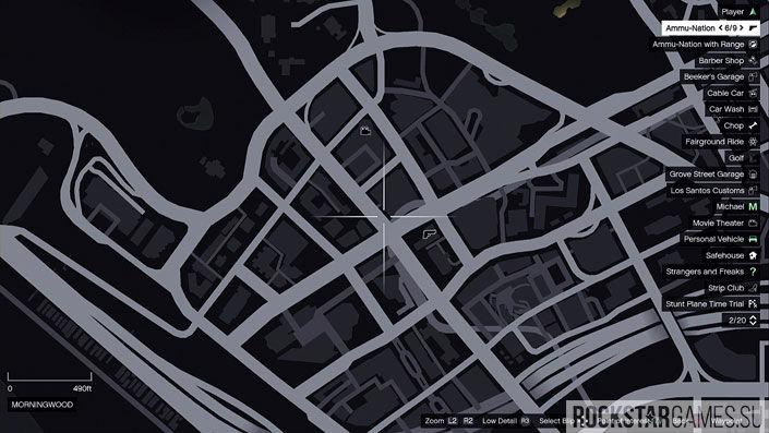 Карта мозаики обезьяны в GTA 5 — изображение 29