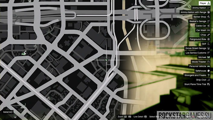 Карта мозаики обезьяны в GTA 5 — изображение 3