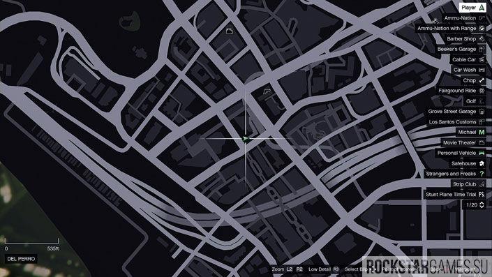 Карта мозаики обезьяны в GTA 5 — изображение 30