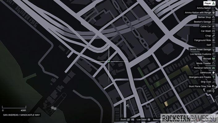Карта мозаики обезьяны в GTA 5 — изображение 32