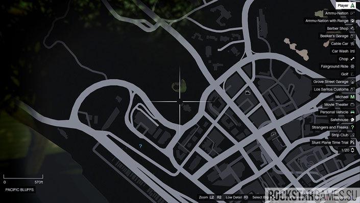 Карта мозаики обезьяны в GTA 5 — изображение 34