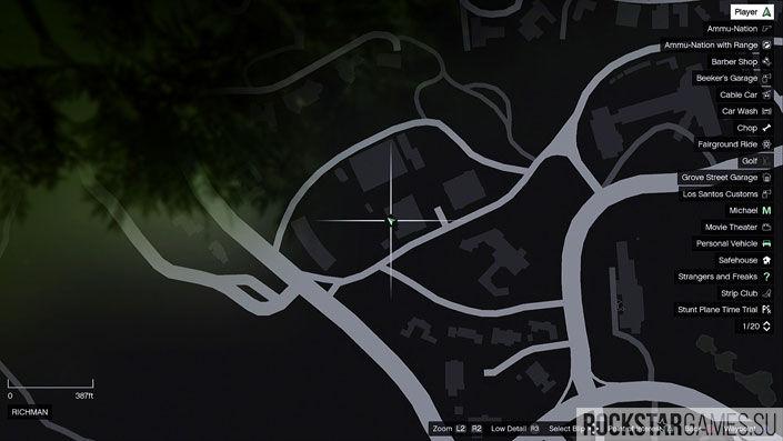 Карта мозаики обезьяны в GTA 5 — изображение 35