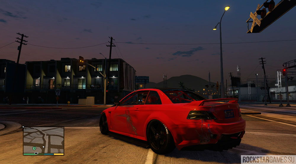 Как быстро починить машину в GTA 5?
