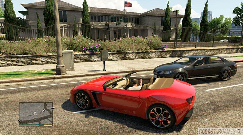 Дорожные войны в GTA 5