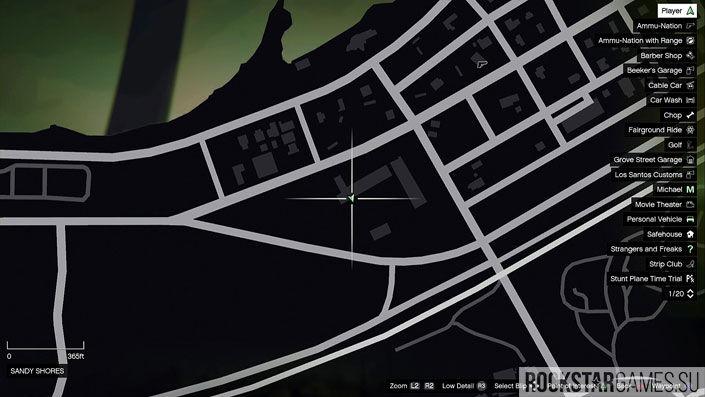 Карта мозаики обезьяны в GTA 5 — изображение 43