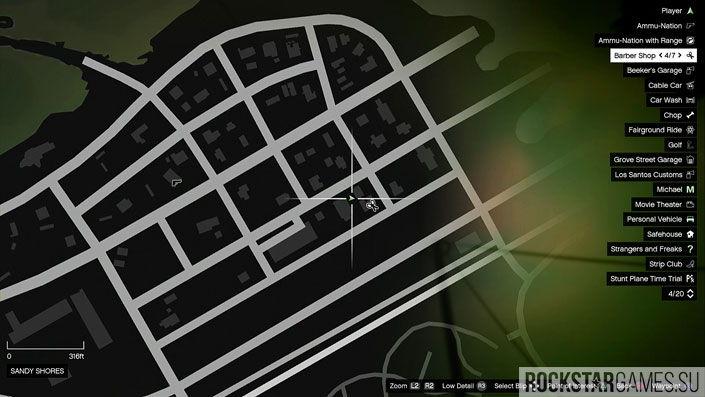 Карта мозаики обезьяны в GTA 5 — изображение 44