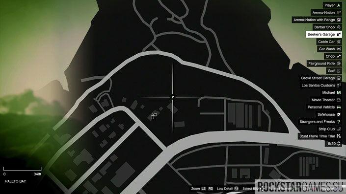 Карта мозаики обезьяны в GTA 5 — изображение 49