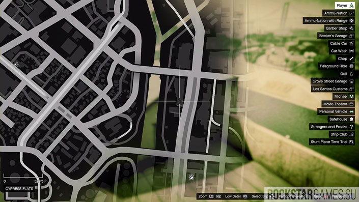Карта мозаики обезьяны в GTA 5 — изображение 5