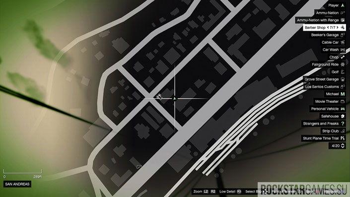 Карта мозаики обезьяны в GTA 5 — изображение 50