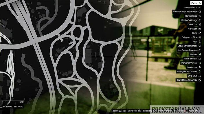 Карта мозаики обезьяны в GTA 5 — изображение 6