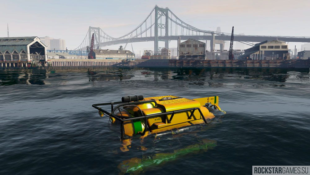 Поиск затонувшей субмарина никак не скажется на прохождение
