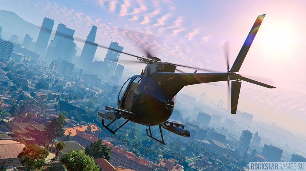 Где найти вертолет?