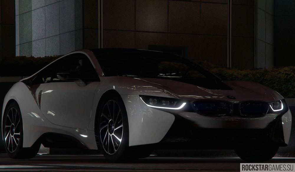 Мод BMW i8 для ГТА 5