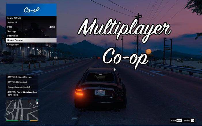 Multiplayer Co-op для одиночной ГТА 5