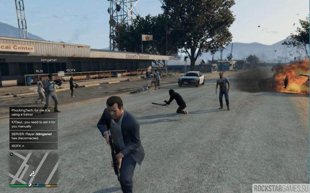 Multiplayer Co-op — кооператив для сюжетной GTA 5