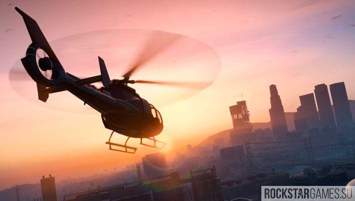 Полеты под мостами на вертолетах в ГТА 5