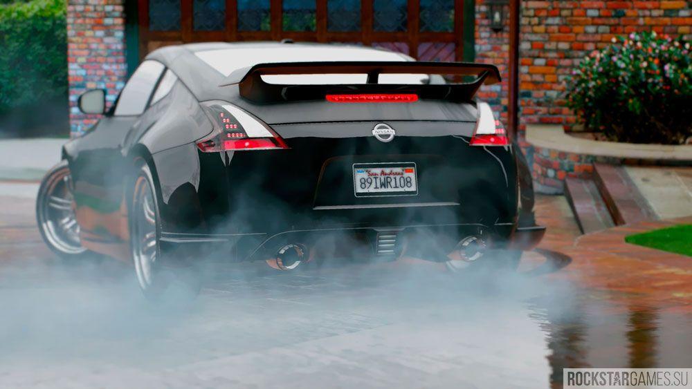 Туман, вода и Nissan в ГТА 5 с модом The Pinnacle of V