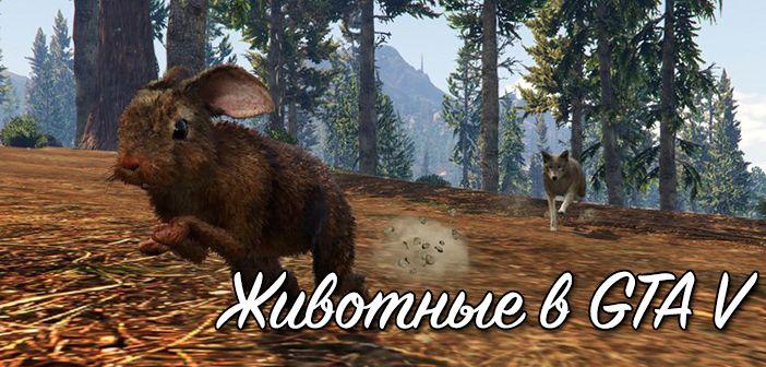 Животные игры GTA 5
