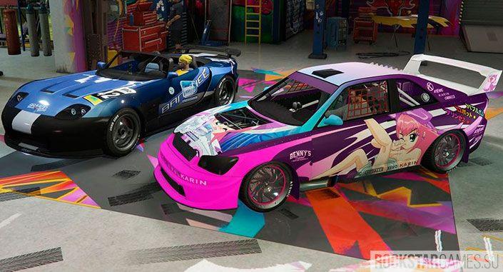 Новые машины, как верх изящества в GTA 5
