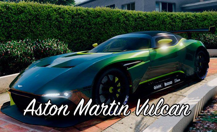 Мод Aston Martin Vulcan для ГТА 5