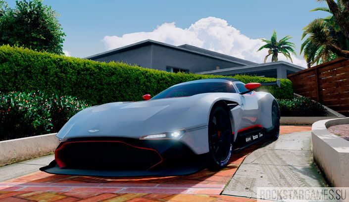 Aston Martin Vulcan в GTA 5