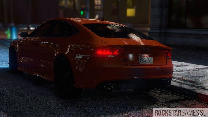 Audi RS7 для ГТА 5