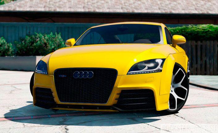 Мод Audi TT RS для GTA 5