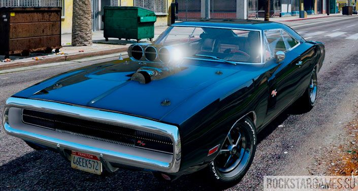 Мод Dodge Charger R/T GTA 5