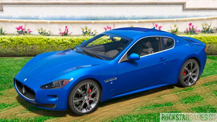 Maserati GranTurismo S для ГТА 5