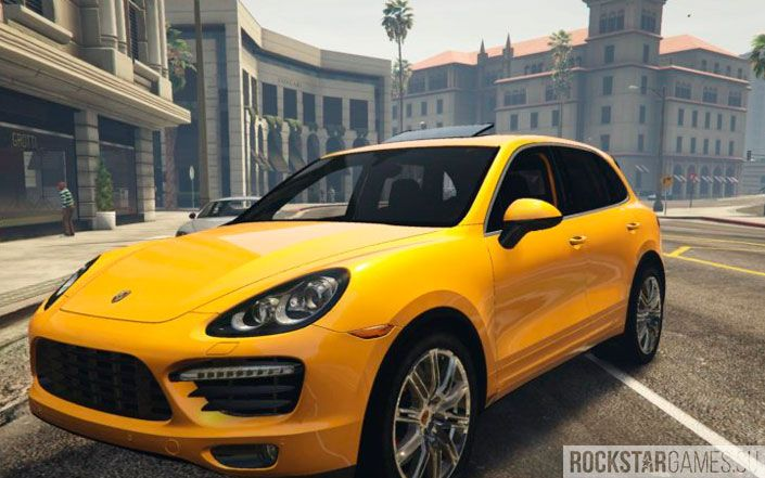Porsche Cayenne Turbo GTA 5
