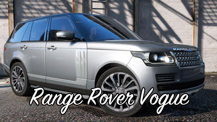 Мод Range Rover Vogue для ГТА 5